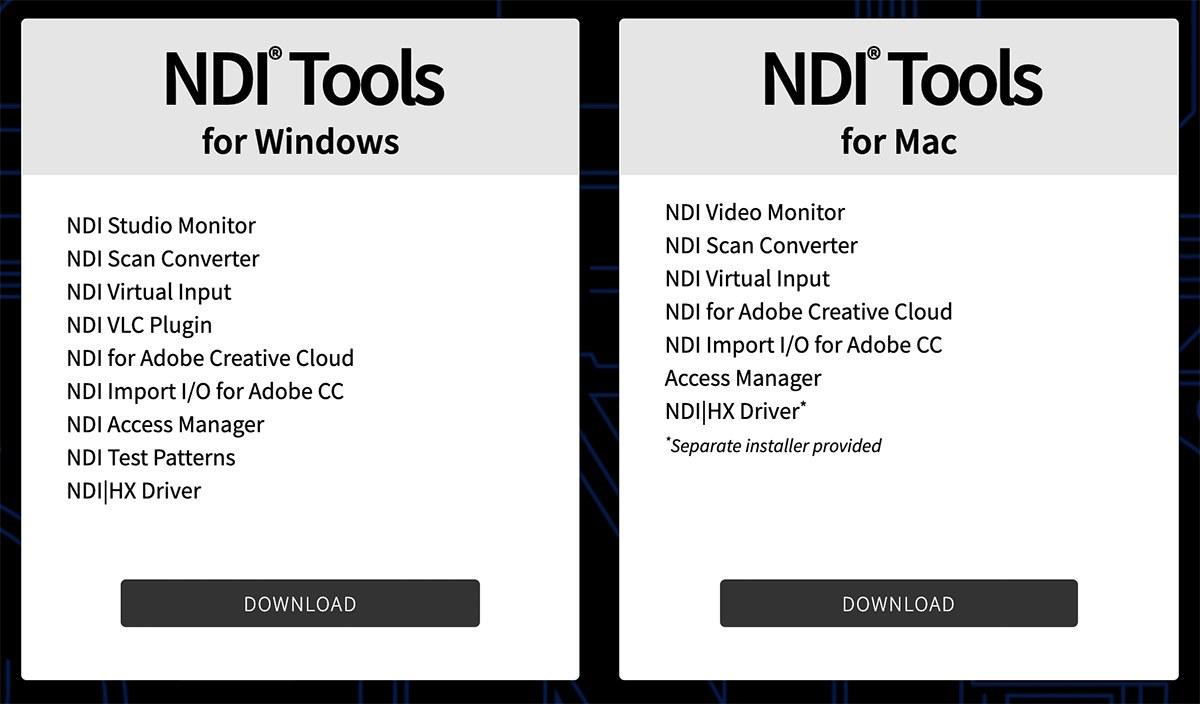 Download NDI Tools