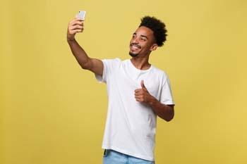 Taking Selfie Videos